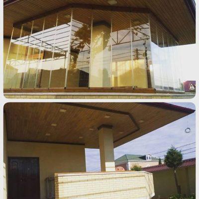 Cam balkon sistemleri sifarisi